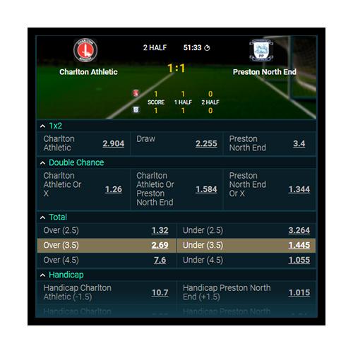 e-sports live bets